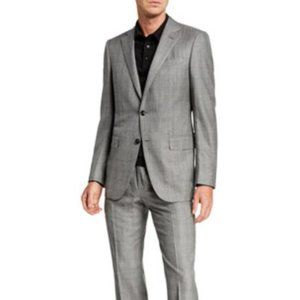 Theory Slim Fit 100% Cotton Two Piece Suit